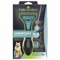FURminator Undercoat deShedding Tool for Small Cat Short Hair