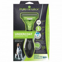 FURminator Undercoat DeShedding Small Dog Short Hair