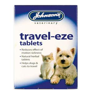 Johnson's Travel-Eze Tablets x 24 for Cats and Dogs