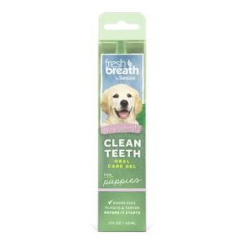 TropiClean Clean Teeth Oral Care Gel For Puppies 59ml