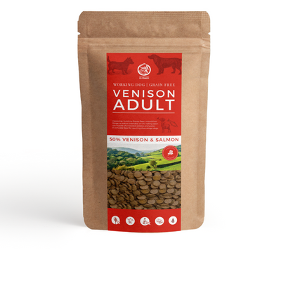 Clydach Farm British Venison Grain Free Adult Dog Food