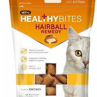 VETIQ Healthy Bites Cat Hairball Remedy Treats 8 x 65g