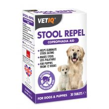 VETIQ Dog Stool Repel 30 Tablets