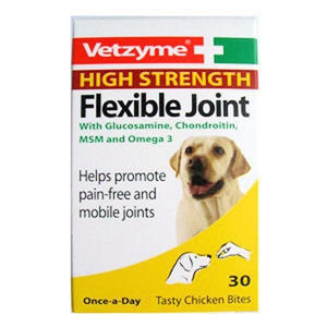 Vetzyme Joint Tablets for Dog Normal & High Strength