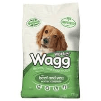 Dog Food Dry Wagg Beef & Veg