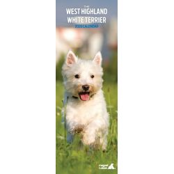 West Highland Terrier Slim Dog Calendar