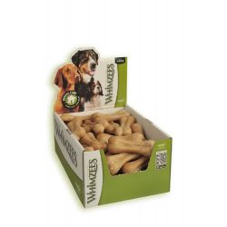 Whimzees Rice Bone for Dogs (50 Bones)