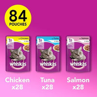 Whiskas Cat Food Jelly or Gravy