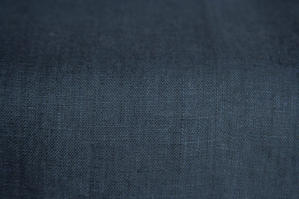 Dark Gray Linen Fabric