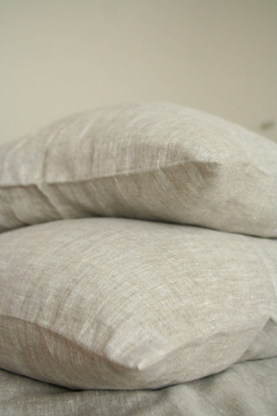 Natural Linen Pillow Case