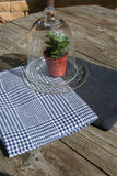 Linen Kitchen towel set of 2/Gray Linen/Natural Linen/Linen Accessories