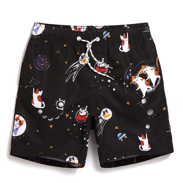 Purrrrfect Trunks - Board Shorts