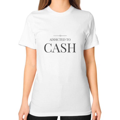 Entrepreneur: Addicted To Cash - Women's Classic short-sleeve T-shirt