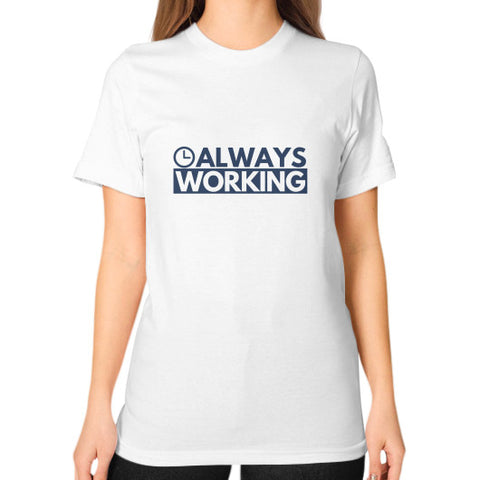 Entrepreneur: Always Working - Women's Classic short-sleeve T-shirt