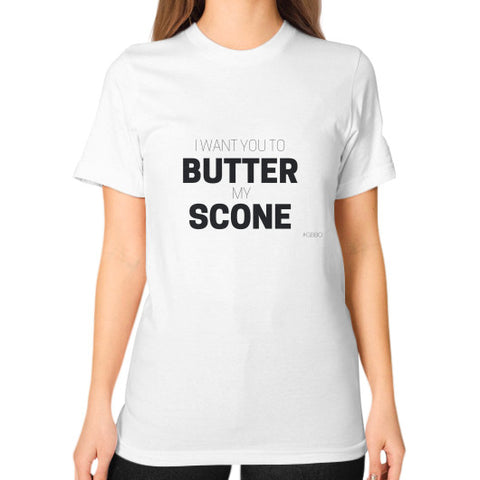 """I want you to butter my scones!"" - Women's Classic short-sleeve T-shirt"