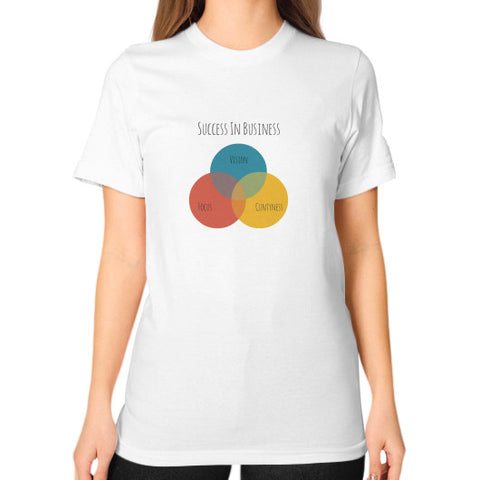The Rude Entrepreneur - A Venn Diagram - Women's Classic short-sleeve T-shirt