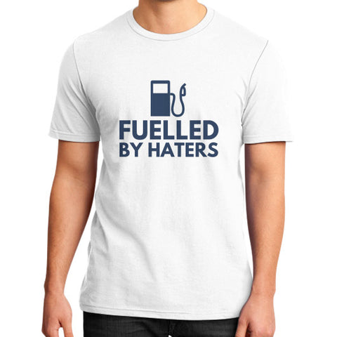 Entrepreneur: Fuelled By Haters - Men's slim-fit short sleeve T-shirt