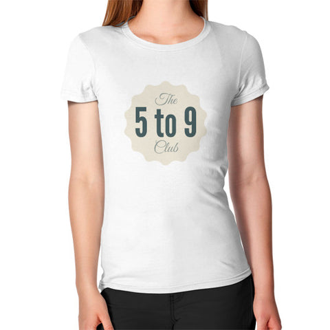 5 to 9 club - Women's Jersey slim-fit short-sleeve T-Shirt