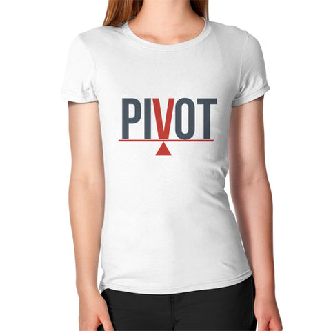 Entrepreneur: Pivot - Women's Jersey slim-fit short-sleeve T-Shirt