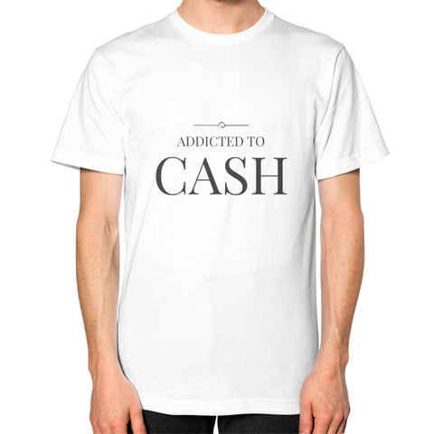 Entrepreneur: Addicted To Cash - Men's Classic short-sleeve T-shirt