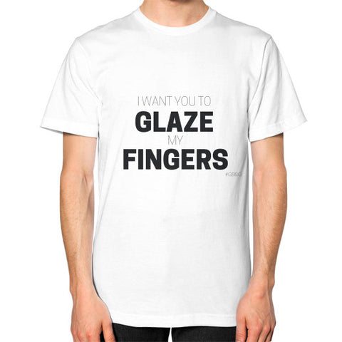 """I want you to glaze my fingers"" - Men's Classic short-sleeve T-shirt"
