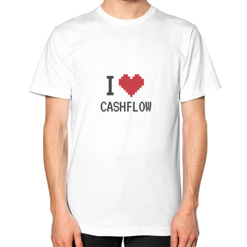 Entrepreneur: I Heart Cashflow - Men's Classic short-sleeve T-shirt