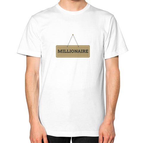 Entrepreneur: Millionaire Sign - Men's Classic short-sleeve T-shirt