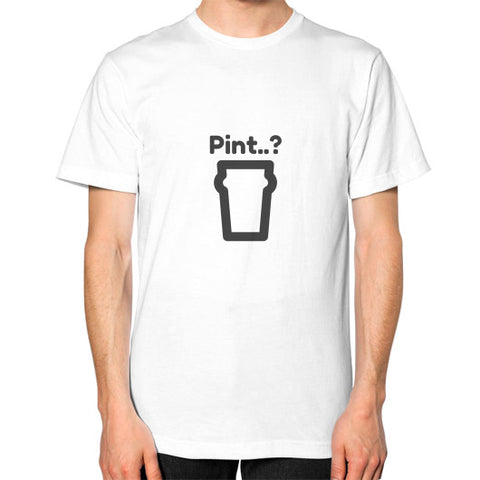 """Pint..?"" - Men's Classic short-sleeve T-shirt"