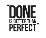 """Entrepreneur: Done is better than perfect"" - Women's Jersey slim-fit short-sleeve T-Shirt"
