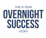 The 10 Year Overnight Success Story - Men's Classic short-sleeve T-shirt