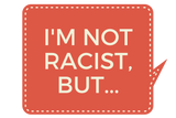 """I'm not racist but..."" - Men's V-neck slim-fit short sleeve T-shirt"
