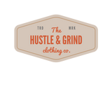 Entrepreneur: The Hustle & Grind Clothing Company (small logo) - Men's slim-fit short sleeve T-shirt
