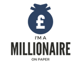 Entrepreneur: Millionaire on Paper Moneybag - Unisex Classic short-sleeve T-shirt