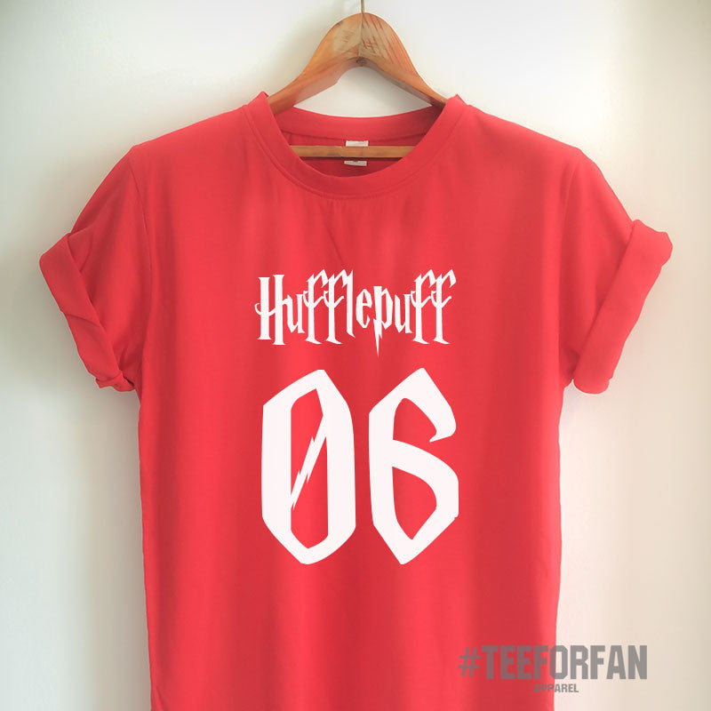 Harry Potter Shirts Harry Potter Merchandise HufflePuff Shirts T shirts Clothes Quidditch Jersey Top Tee for Women Girls Men
