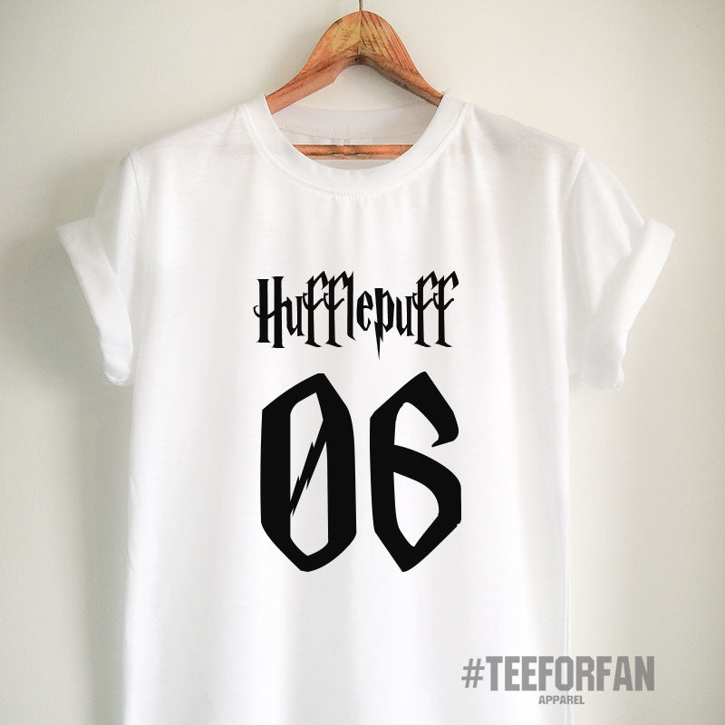 3d9fe7b9 Harry Potter Shirts Harry Potter Merchandise HufflePuff Shirts T shirts  Clothes Quidditch Jersey Top Tee for
