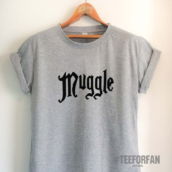 Harry Potter Shirts Harry Potter Merchandise Muggle T-Shirts Clothes Apparel Top Tee for Women Girls Men
