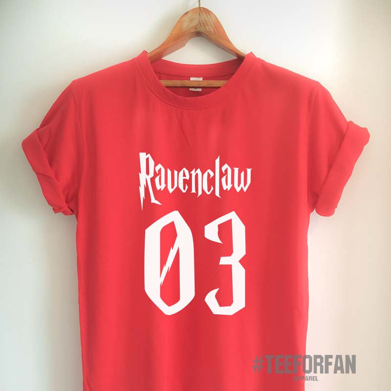 Harry Potter Shirts Harry Potter Merchandise RavenClaw Shirts T shirts Clothes Quidditch Jersey Top Tee for Women Girls Men