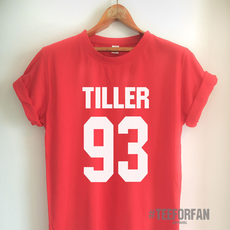 Tiller Shirt Tiller 93 T-Shirt Tiller Merch Clothing Top Tee Jersey for Women Girls Men