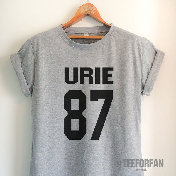 Urie Shirts Urie 87 T Shirt Urie Merch Clothing Top Tee Jersey for Women Girls Men