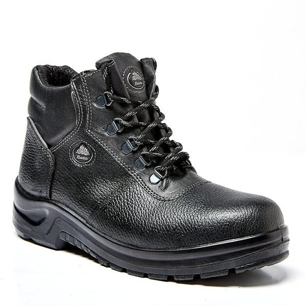 Bata Atlantic Black Boot - Safety Supplies  Safety Boots - PPE, Workwear, Conti Suits, Zeroflame and Acid, Safety Equipment, Safety Products - Safety supplies
