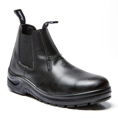 Bata Chelsea Smooth Black STC Boot - Safety Supplies  Footwear - PPE, Workwear, Conti Suits, Zeroflame and Acid, Safety Equipment, Safety Products - Safety supplies