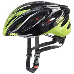uvex boss race Black Neon-Yellow Cycling Sport Helmet
