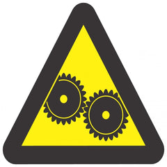 Warning Moving Machinery (290x290) - Safety Supplies  Signage - PPE, Workwear, Conti Suits, Zeroflame and Acid, Safety Equipment, Safety Products - Safety supplies