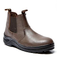 Bata Chelsea Brown STC Boot (Local) - Safety Supplies  Safety Boots - PPE, Workwear, Conti Suits, Zeroflame and Acid, Safety Equipment, SAFETY SUPPLIES - Safety supplies