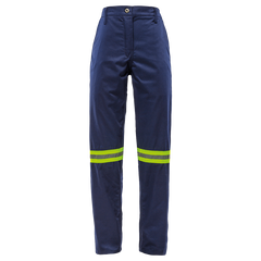 Sisi 65/35 Poly Cotton Tri-Reflect Work Trousers - Royal Blue - Safety Supplies  Workwear - PPE, Workwear, Conti Suits, Zeroflame and Acid, Safety Equipment, Safety Products - Safety supplies