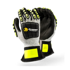Dromex Mach 777 Cut Level 5 Impact Glove with Vibro Palm - Safety Supplies  Hand Protection - PPE, Workwear, Conti Suits, Zeroflame and Acid, Safety Equipment, SAFETY SUPPLIES - Safety supplies
