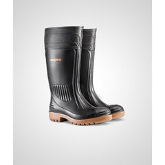 Wayne Egoli F1270 STC Black/Toffee Gumboot - Safety Supplies  Gumboots - PPE, Workwear, Conti Suits, Zeroflame and Acid, Safety Equipment, Safety Products - Safety supplies