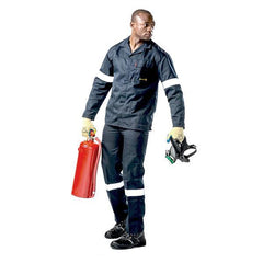 Dromex Dupont Nomex Suit (Jacket) - Navy Blue - Safety Supplies  Workwear - PPE, Workwear, Conti Suits, Zeroflame and Acid, Safety Equipment, Safety Products - Safety supplies