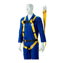 Dromex Full Body Harness (Double Lanyard) - Safety Supplies  Body Protection - PPE, Workwear, Conti Suits, Zeroflame and Acid, Safety Equipment, Safety Products - Safety supplies