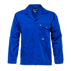 Bova 65/35 Poly Cotton Royal Blue Standard Work Jacket - Safety Supplies  Workwear - PPE, Workwear, Conti Suits, Zeroflame and Acid, Safety Equipment, Safety Products - Safety supplies